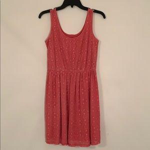 Mossimo Supply Co Sundress Pink/Salmon